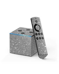 Grey Speckle Fire TV Cube Skin