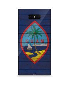 Guam Flag Dark Wood Razer Phone 2 Skin