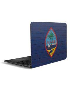 Guam Flag Dark Wood Zenbook UX305FA 13.3in Skin