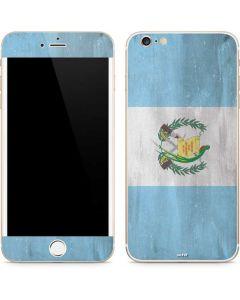 Guatemala Flag Distressed iPhone 6/6s Plus Skin