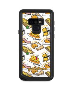 Gudetama 5 More Minutes Galaxy Note 9 Waterproof Case