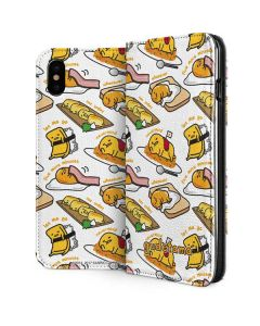 Gudetama 5 More Minutes iPhone XS Max Folio Case