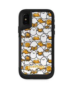Gudetama Blast Pattern Otterbox Pursuit iPhone Skin