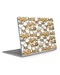 Gudetama Blast Pattern Surface Book 2 13.5in Skin