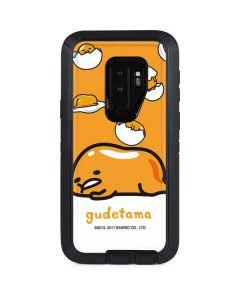 Gudetama Egg Shell Otterbox Defender Galaxy Skin
