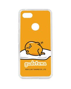 Gudetama Google Pixel 3 XL Clear Case