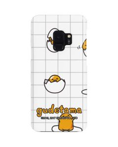 Gudetama Grid Pattern Galaxy S9 Lite Case
