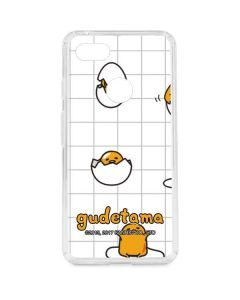 Gudetama Grid Pattern Google Pixel 3 XL Clear Case