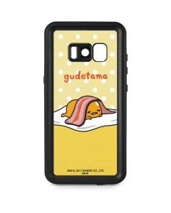 Gudetama Polka Dots Galaxy S8 Waterproof Case