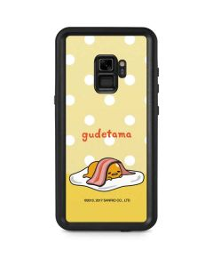 Gudetama Polka Dots Galaxy S9 Waterproof Case