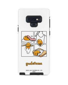 Gudetama Square Grid Galaxy Note 9 Pro Case