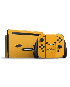 Gudetama Up Close Nintendo Switch Bundle Skin