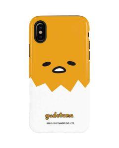 Gudetama Up Close Shell iPhone X Pro Case
