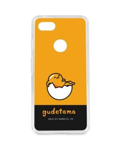 Gudetama Yellow Split Google Pixel 3 XL Clear Case