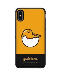 Gudetama Yellow Split Otterbox Symmetry iPhone Skin