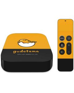 Gudetama Yellow Split Apple TV Skin