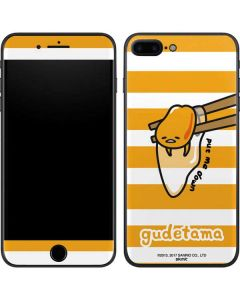 Gudetama Put Me Down iPhone 8 Plus Skin