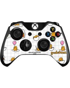 Gudetama Grid Pattern Xbox One Controller Skin