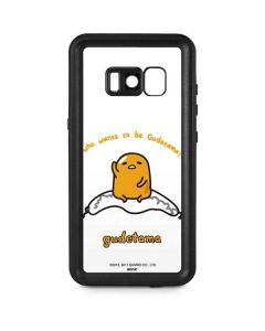 Who Wants To Be Gudetama Galaxy S8 Plus Waterproof Case