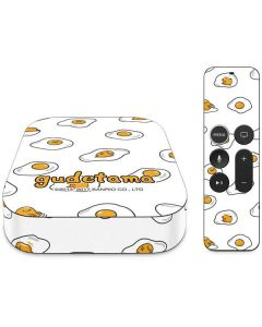 Gudetama Egg Pattern Apple TV Skin