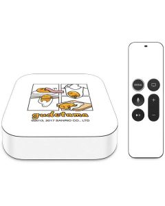 Gudetama Square Grid Apple TV Skin