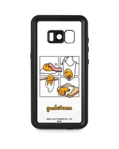 Gudetama Square Grid Galaxy S8 Plus Waterproof Case