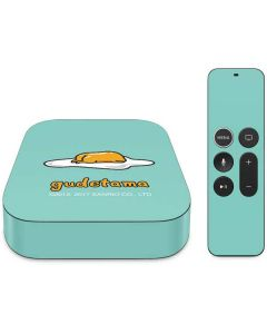 Lazy Gudetama Apple TV Skin