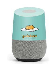 Lazy Gudetama Google Home Skin