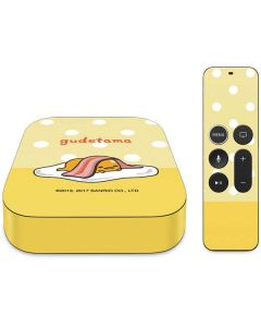 Gudetama Polka Dots Apple TV Skin