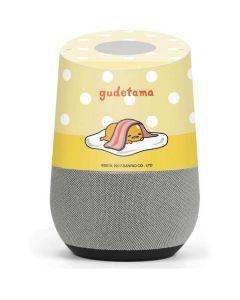 Gudetama Polka Dots Google Home Skin