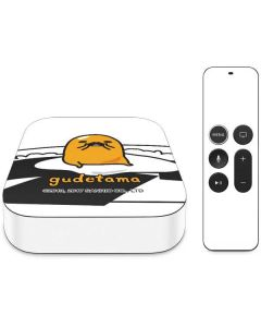 Gudetama Mustache Apple TV Skin