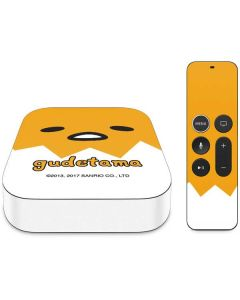 Gudetama Up Close Shell Apple TV Skin