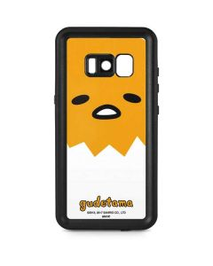 Gudetama Up Close Shell Galaxy S8 Plus Waterproof Case