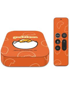 Gudetama Shell Pattern Apple TV Skin