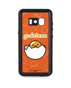 Gudetama Shell Pattern Galaxy S8 Plus Waterproof Case