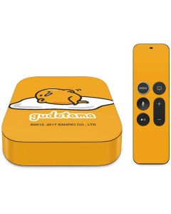 Gudetama Apple TV Skin