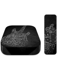Guitar Pattern Apple TV Skin