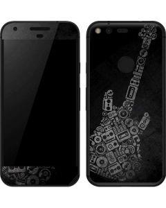 Guitar Pattern Google Pixel Skin