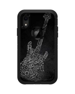 Guitar Pattern Otterbox Defender iPhone Skin