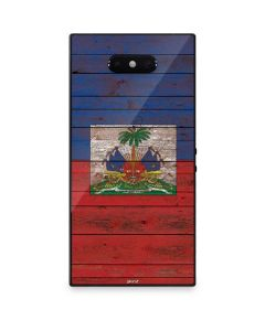 Haiti Flag Dark Wood Razer Phone 2 Skin