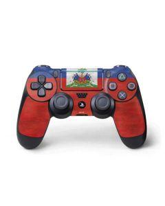 Haiti Flag Distressed PS4 Pro/Slim Controller Skin
