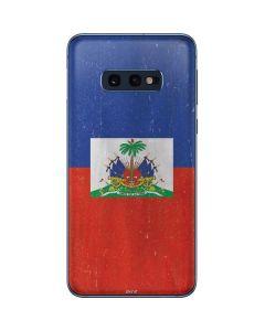 Haitian Flag Distressed Galaxy S10e Skin