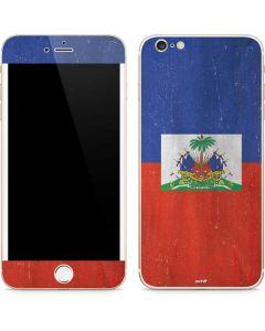Haitian Flag Distressed iPhone 6/6s Plus Skin