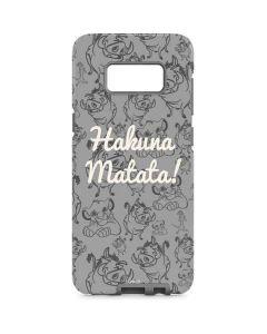 Hakuna Matata Galaxy S8 Pro Case