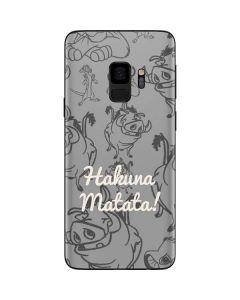 Hakuna Matata Galaxy S9 Skin