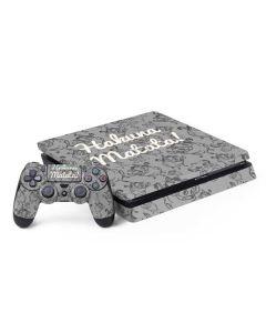 Hakuna Matata PS4 Slim Bundle Skin