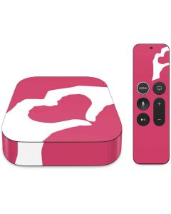Hand Shaped Heart Apple TV Skin