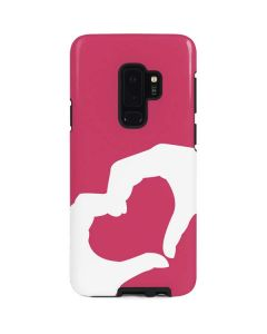 Hand Shaped Heart Galaxy S9 Plus Pro Case
