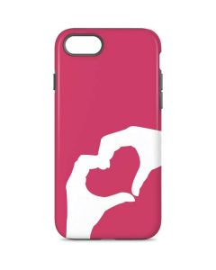 Hand Shaped Heart iPhone 7 Pro Case