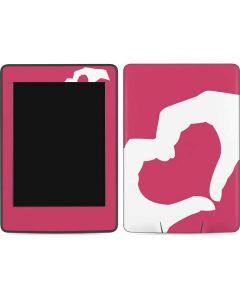 Hand Shaped Heart Amazon Kindle Skin